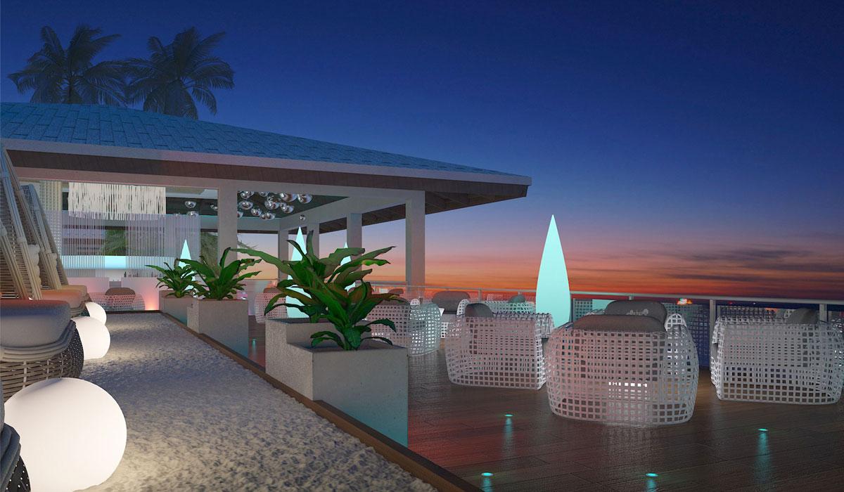 Hotel Paradisus Los Cayos - Terrace