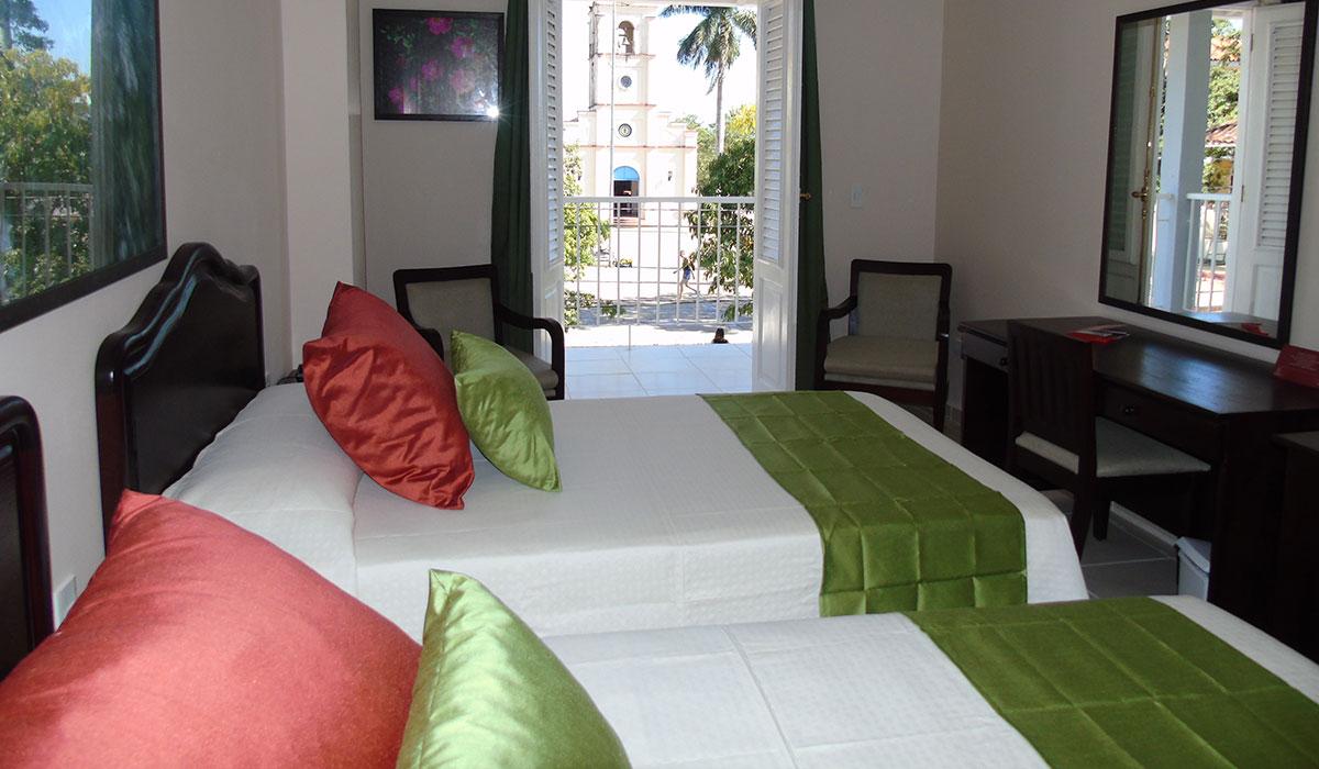 Hotel Encanto Central Viñales - Habitación