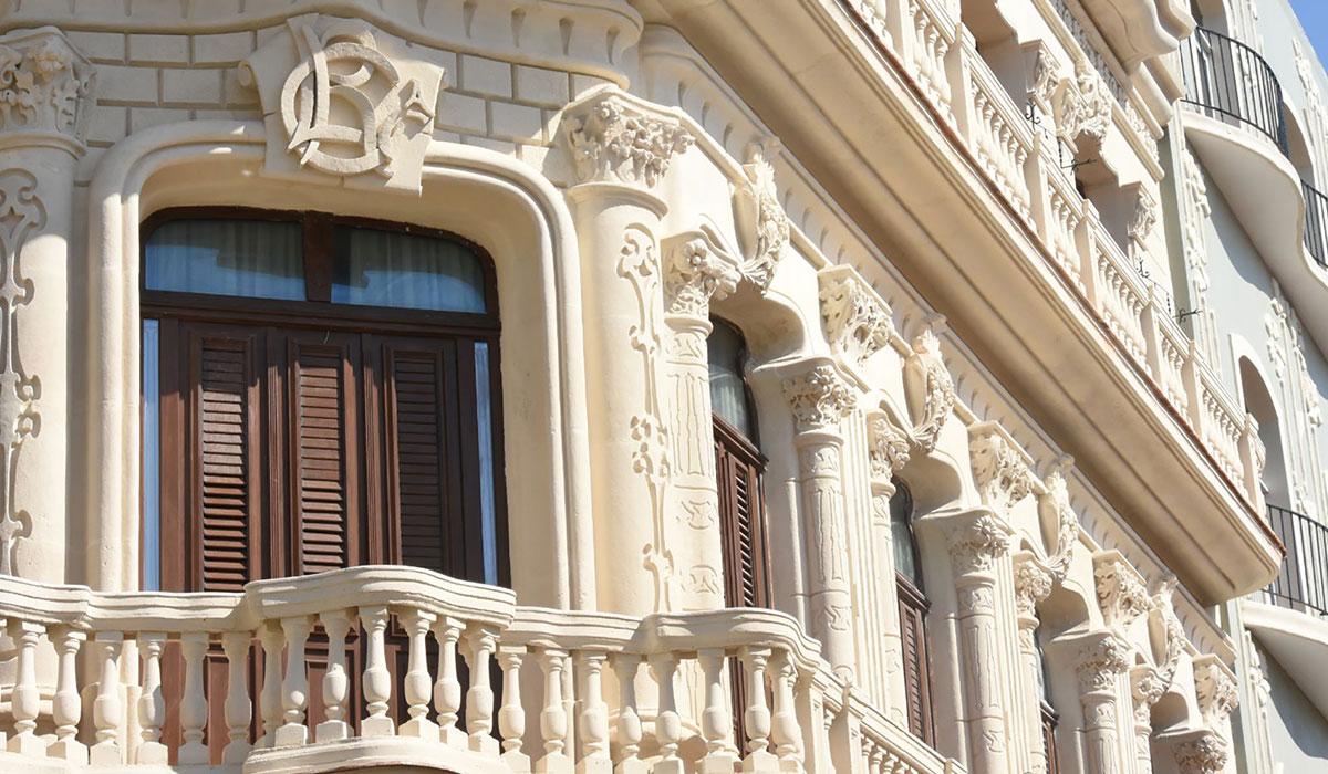 Hotel Palacio Cueto - Facade